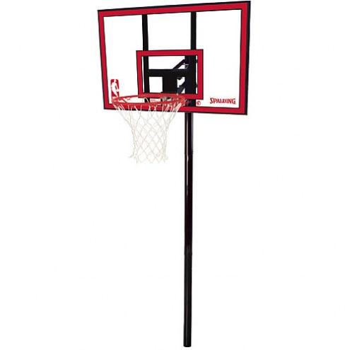 Spalding NBA 88351 In Ground Adjustable Basketball Hoop