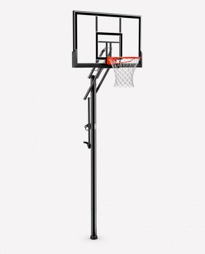 Spalding NBA 88355 In Ground Adjustable Basketball Hoop