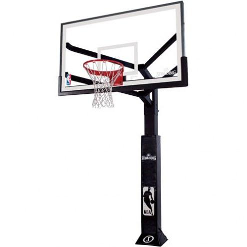"Spalding Arena View 86604AGP 60"" Glass Basketball Hoop"