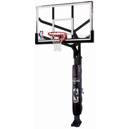 """Spalding Arena View H-Frame 60"""" Adjustable Basketball Hoop"""