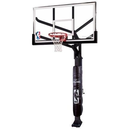 Spalding Arena View H-Frame 86724HGP Adjustable Basketball Hoop