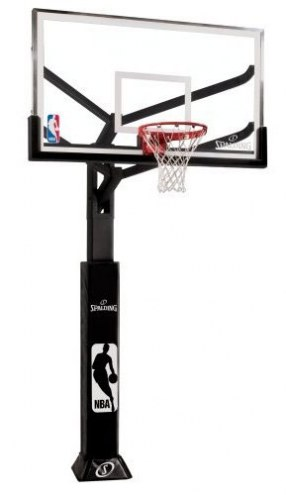 Spalding Arena View 88724AGP In-Ground Adjustable Basketball Hoop