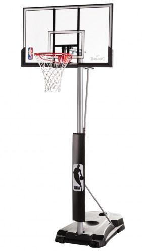 "Spalding Hercules 52"" Acrylic Portable Basketball System"
