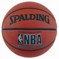 Spalding NBA Outdoor Junior Basketball (28.5)