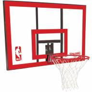 "Spalding Residential 44"" Polycarbonate Basketball Backboard Package"