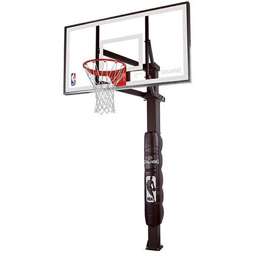 spalding triple eight series 88825g 54 glass basketball hoop
