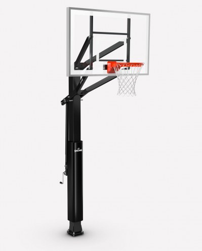 "Spalding Triple Eight Series 88830G 60"" Glass Basketball Hoop"