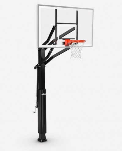 "Spalding Triple Eight Series 88880G 72"" Glass Basketball Hoop"