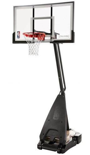"Spalding Ultimate Hybrid 60"" Acrylic Portable Basketball System"