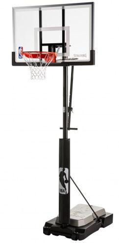 "Spalding Ultimate Hybrid Jr 50"" Acrylic Portable Basketball System"
