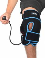Sports Unlimited Ice Cold Compression Knee Wrap