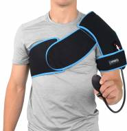 Sports Unlimited Ice Cold Compression Shoulder Wrap