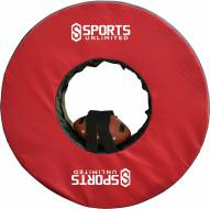 "Sports Unlimited 40"" Football Tackling Ring with Straps"
