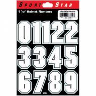 "SportStar 1 1/2"" Football Helmet Numbers"