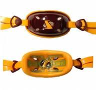 SportStar Adult Gx-4 Gel Hardcup Football/Lacrosse Chin Strap - Custom Colors