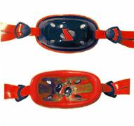 SportStar Youth Gx-4 Gel Hardcup Football/Lacrosse Chin Strap - Custom Colors