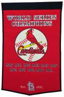 Winning Streak St. Louis Cardinals Major League Baseball Dynasty Banner