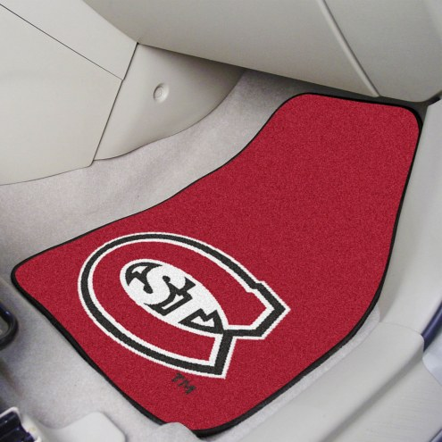 St. Cloud State Huskies 2-Piece Carpet Car Mats