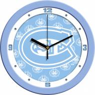 St. Cloud State Huskies Baby Blue Wall Clock