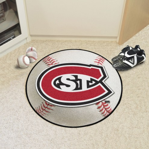 St. Cloud State Huskies Baseball Rug