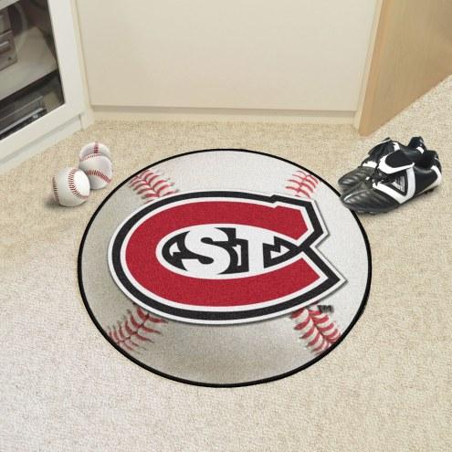 St. Cloud State Huskies Baseball Rug