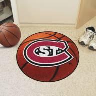 St. Cloud State Huskies Basketball Mat