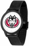 St. Cloud State Huskies Black Mesh Statement Watch