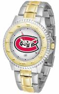 St. Cloud State Huskies Competitor Two-Tone Men's Watch