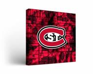 St. Cloud State Huskies Fight Song Canvas Wall Art