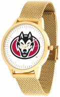 St. Cloud State Huskies Gold Mesh Statement Watch