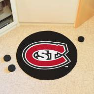 St. Cloud State Huskies Hockey Puck Mat