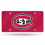 St. Cloud State Huskies Laser Cut License Plate