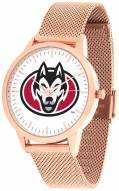St. Cloud State Huskies Rose Mesh Statement Watch