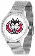 St. Cloud State Huskies Silver Mesh Statement Watch