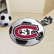 St. Cloud State Huskies Soccer Ball Mat
