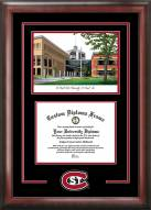 St. Cloud State Huskies Spirit Diploma Frame with Campus Image