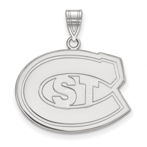 St. Cloud State Huskies Sterling Silver Large Pendant