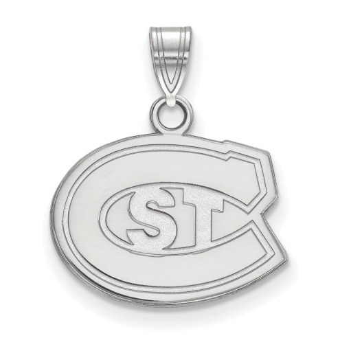 St. Cloud State Huskies Sterling Silver Small Pendant