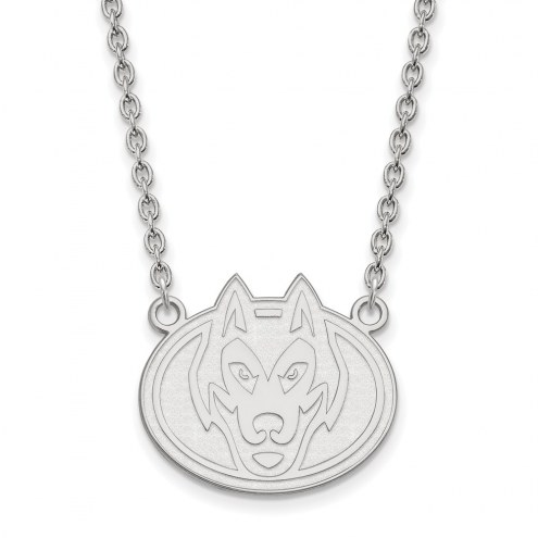 St. Cloud State Huskies Sterling Silver Large Pendant Necklace