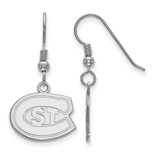 St. Cloud State Huskies Sterling Silver Small Dangle Earrings