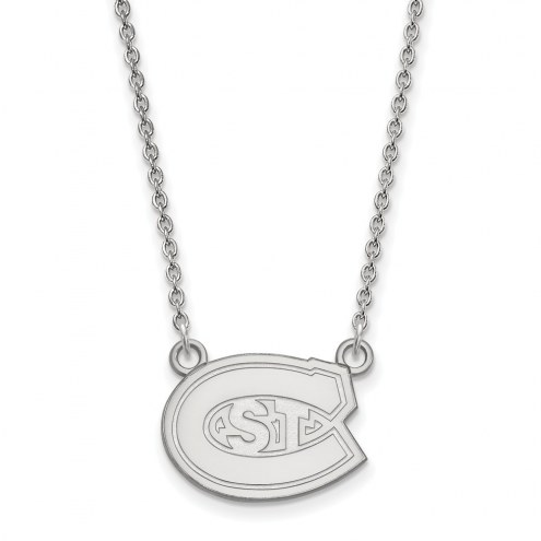 St. Cloud State Huskies Sterling Silver Small Pendant Necklace