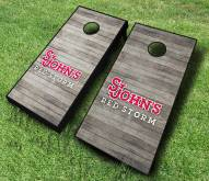 St. John's Red Storm Cornhole Board Set