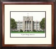 St. John's Red Storm Alumnus Framed Lithograph