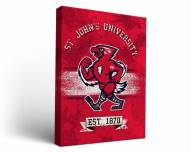 St. John's Red Storm Banner Canvas Wall Art