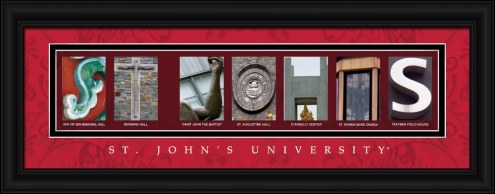 St. John's Red Storm Campus Letter Art