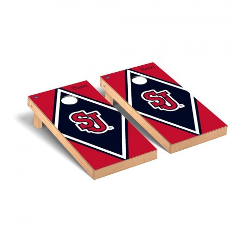St. John's Red Storm Diamond Cornhole Game Set