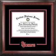 St. John's Red Storm Spirit Diploma Frame