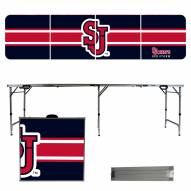 St. John's Red Storm Victory Folding Tailgate Table