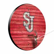 St. John's Red Storm Weathered Design Hook & Ring Game