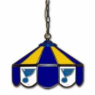 """St. Louis Blues 14"""" Glass Pub Lamp"""